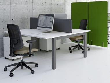 Multiple office workstation YAN_C   Office workstation