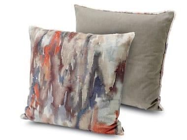 Cuscino  in pelliccia stampata YANGON | Cuscino