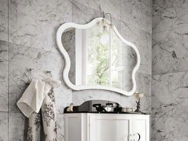 Specchio con cornice per bagno YORK 92 | Specchio