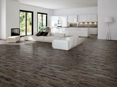 Pavimento in gres porcellanato effetto legno YOSEMITE MULBERRY