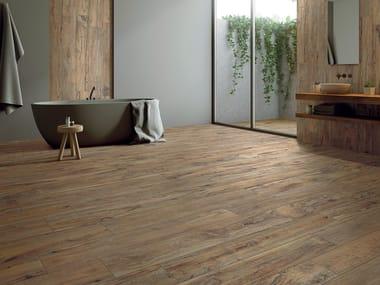 Pavimento in gres porcellanato effetto legno YOSEMITE TAN