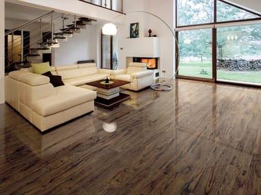 Pavimento in gres porcellanato effetto legno YOSEMITY WALNUT