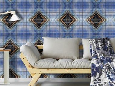 Indoor/outdoor polyurethane mosaic YVON CHAUSSEBLANCHE