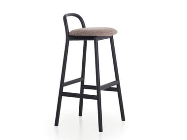 High stool with footrest ZANTILAM 16