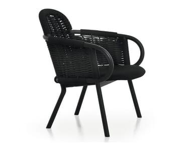 Ash armchair with armrests ZANTILAM 34