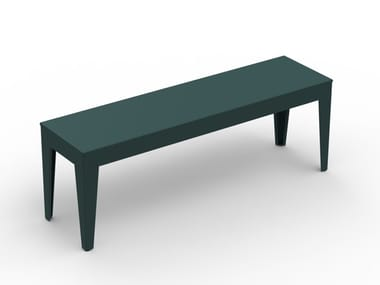 Powder coated steel bench ZEF | Bench seating