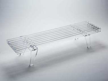 PMMA bench ZEN 1750