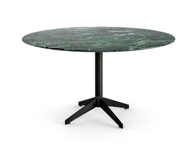 Round marble table ZEN BLACK