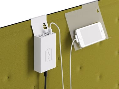 USB Charger for desking panels ZEN