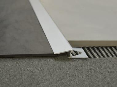 Profilo per pavimento in alluminio anodizzato ZEROTEC ZR 60
