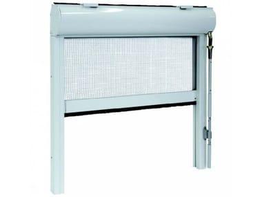 Sliding vertical insect screen ZIP ARGANO 90/106
