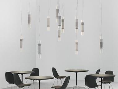 Lampada a sospensione a LED in cotto ZOE 12