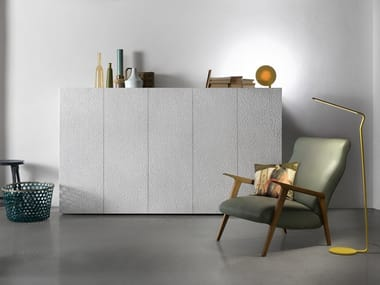 Lacquered highboard ZURICH