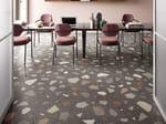 Porcelain stoneware wall/floor tiles terrazzo effect