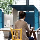 Schreibtisch-Trennwände