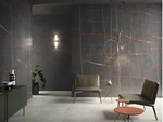 Indoor porcelain stoneware wall tiles with marble effect