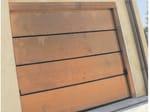 Steel sectional door