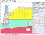 software per il calcolo e la verifica di muri controterra a gravità, a semigravità, ..