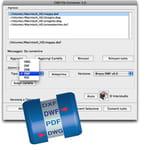 convertitore di formati cad (dxf, dwg, dxb, dwf, pdf e svg)