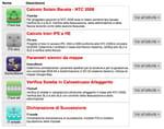 applicazioni web on line per i professionisti della progettazione