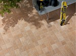 Porcelain stoneware outdoor floor tiles
