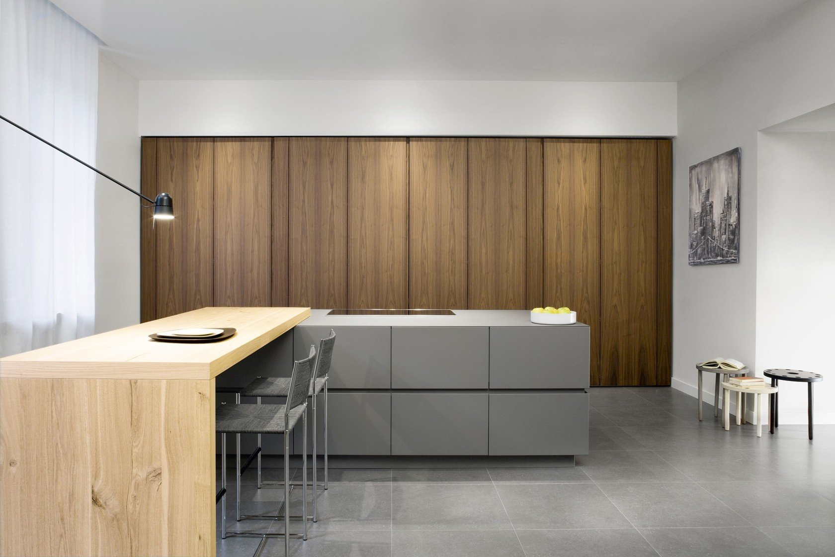 Walnut kitchen by tm italia cucine - Cucine gratis roma ...