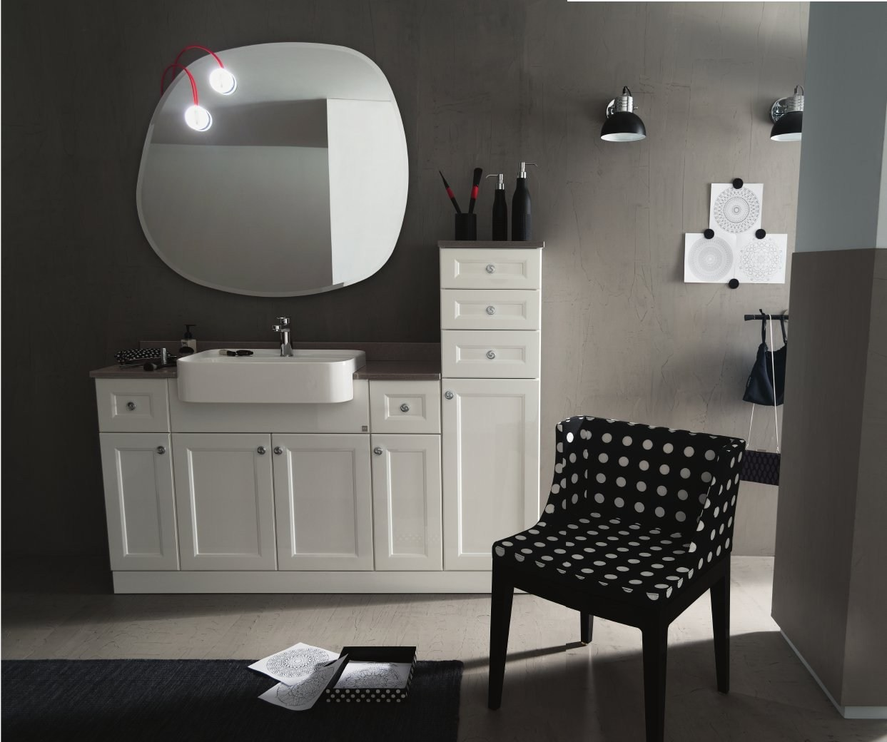 single vanity unit 33 by rab arredobagno - Arredo Bagno Rab