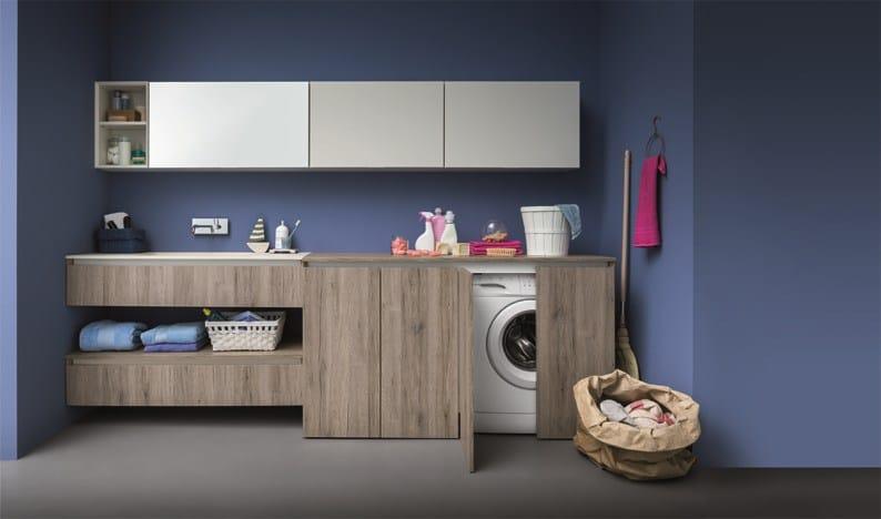 ... lavanderia con ante per lavatrice 45  Mobile lavanderia - Birex