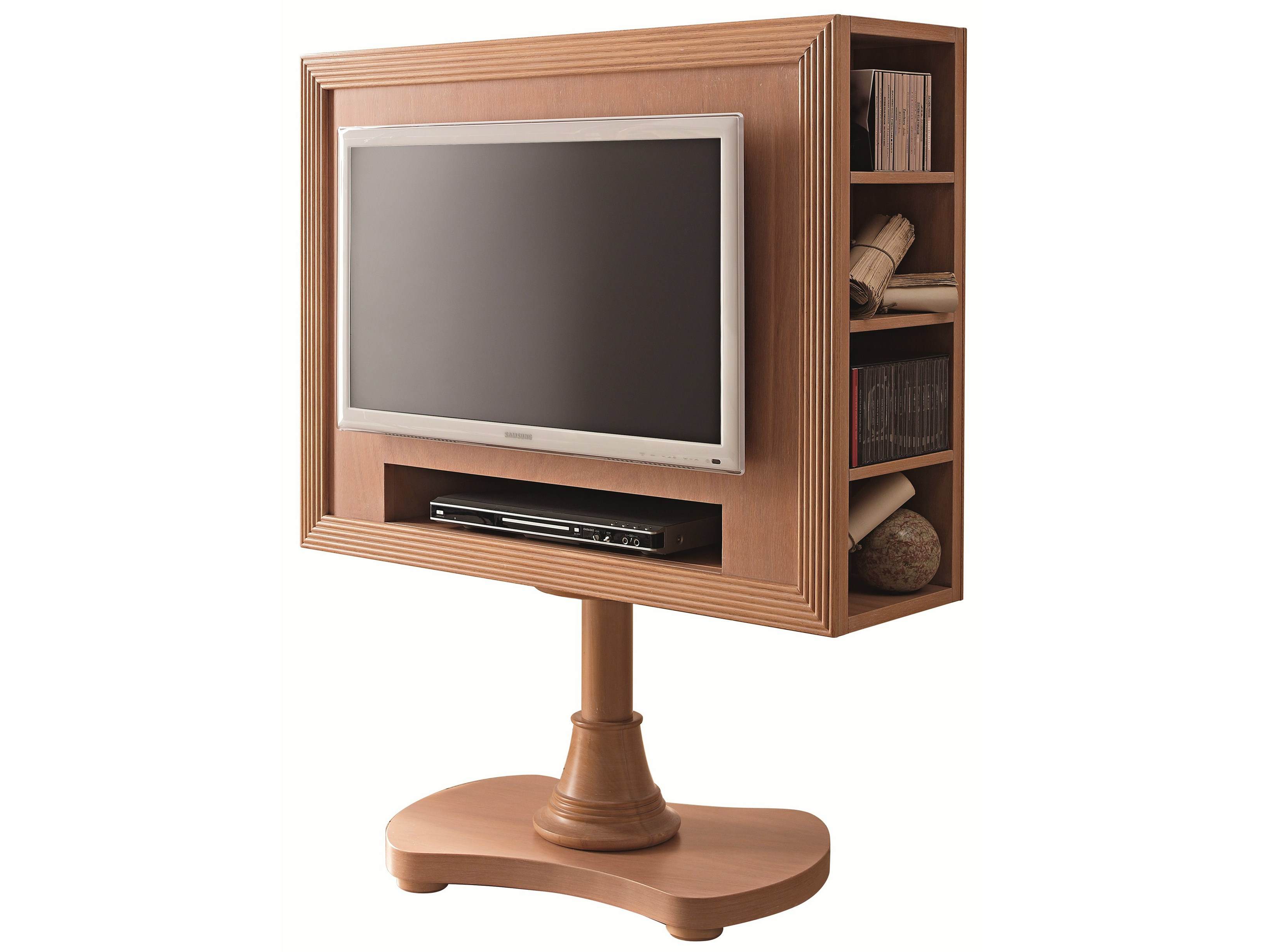 663 meuble tv pivotant by caroti. Black Bedroom Furniture Sets. Home Design Ideas