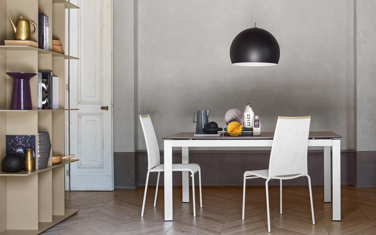 Aida bonded leather chair by calligaris for Calligaris instagram