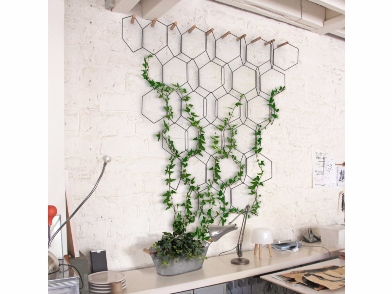 metal vertical gardening trellis anno by compagnie. Black Bedroom Furniture Sets. Home Design Ideas