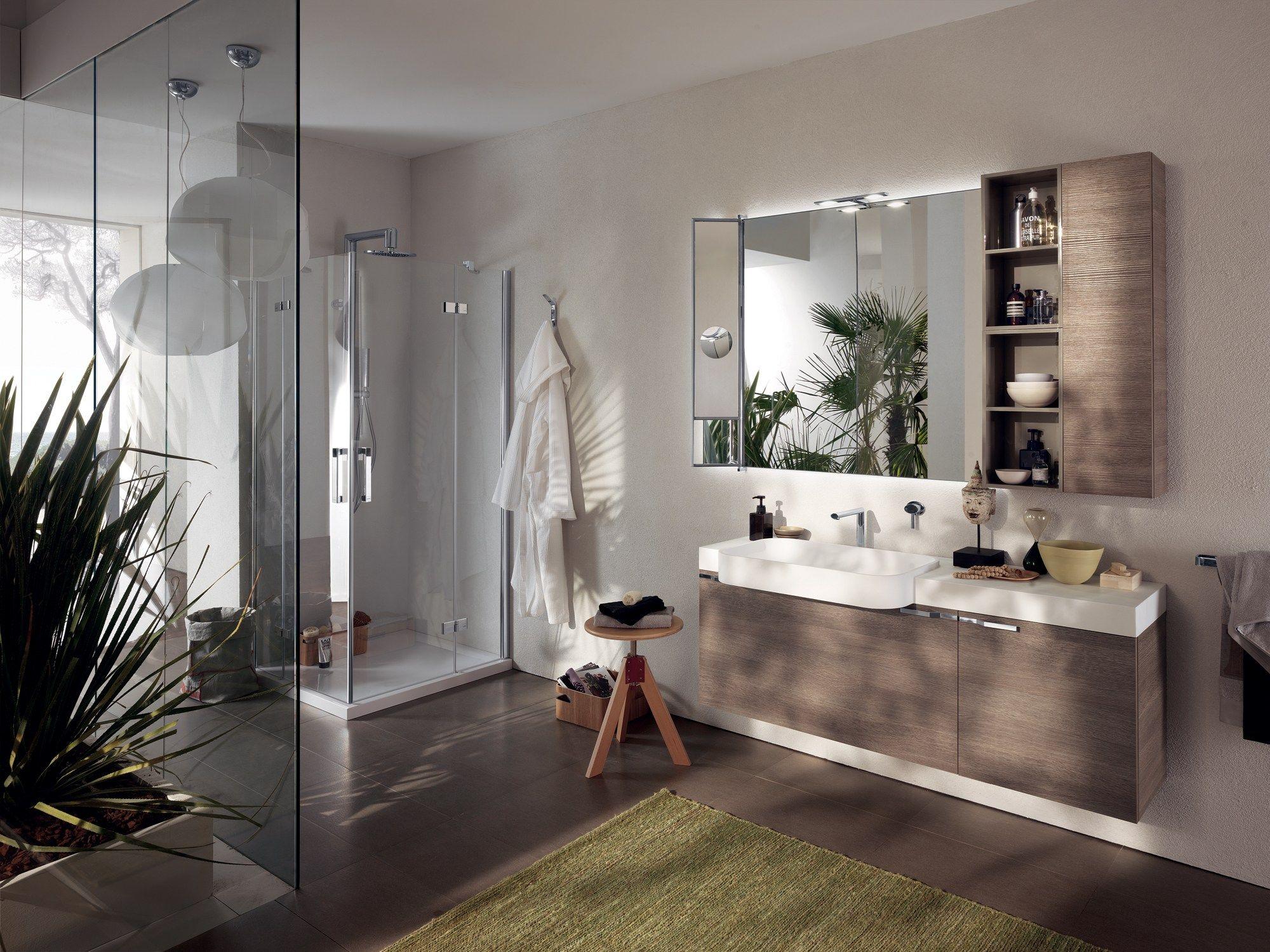 Arredo bagno completo AQUO By Scavolini Bathrooms design Castiglia ...