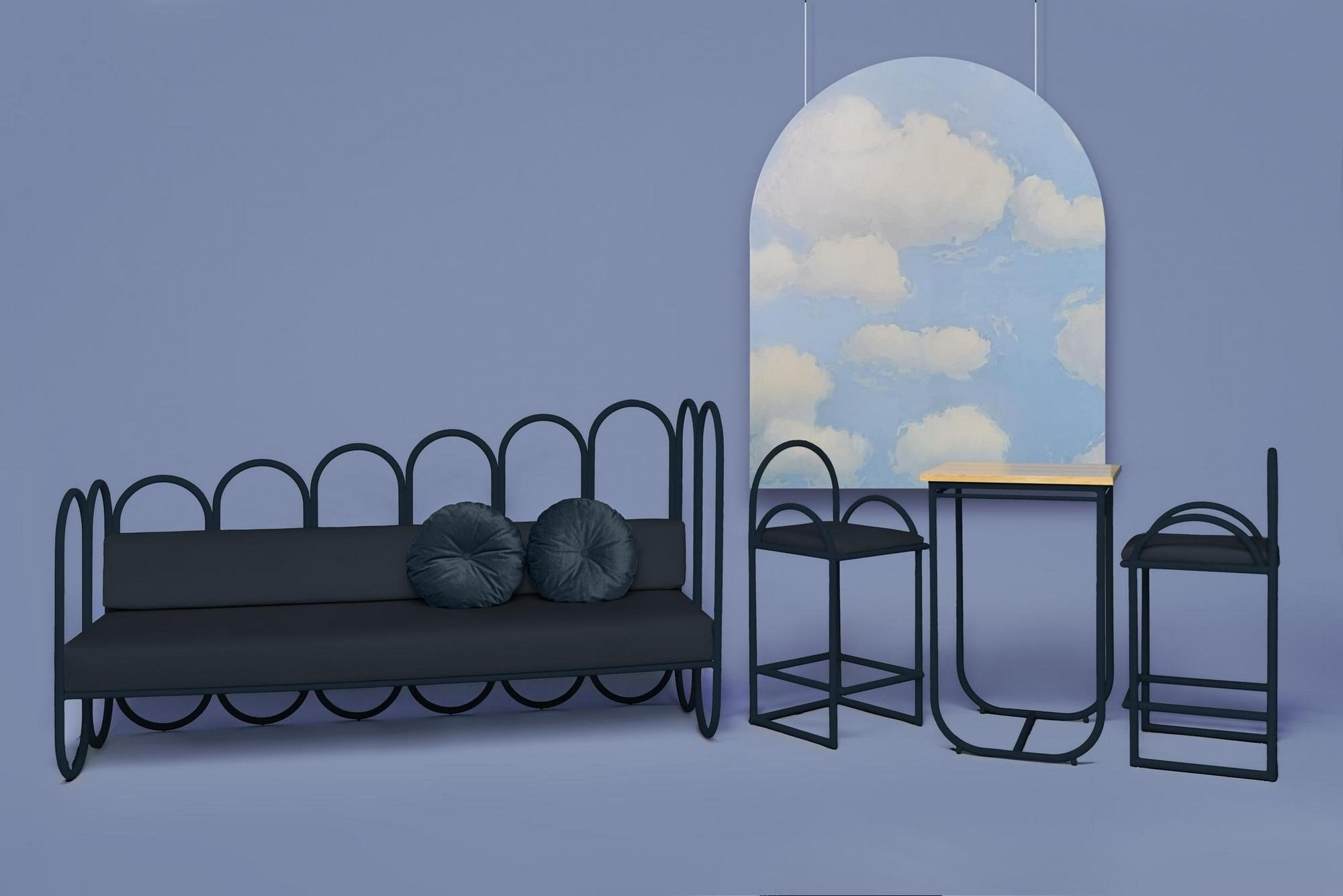 arco canap by houtique. Black Bedroom Furniture Sets. Home Design Ideas