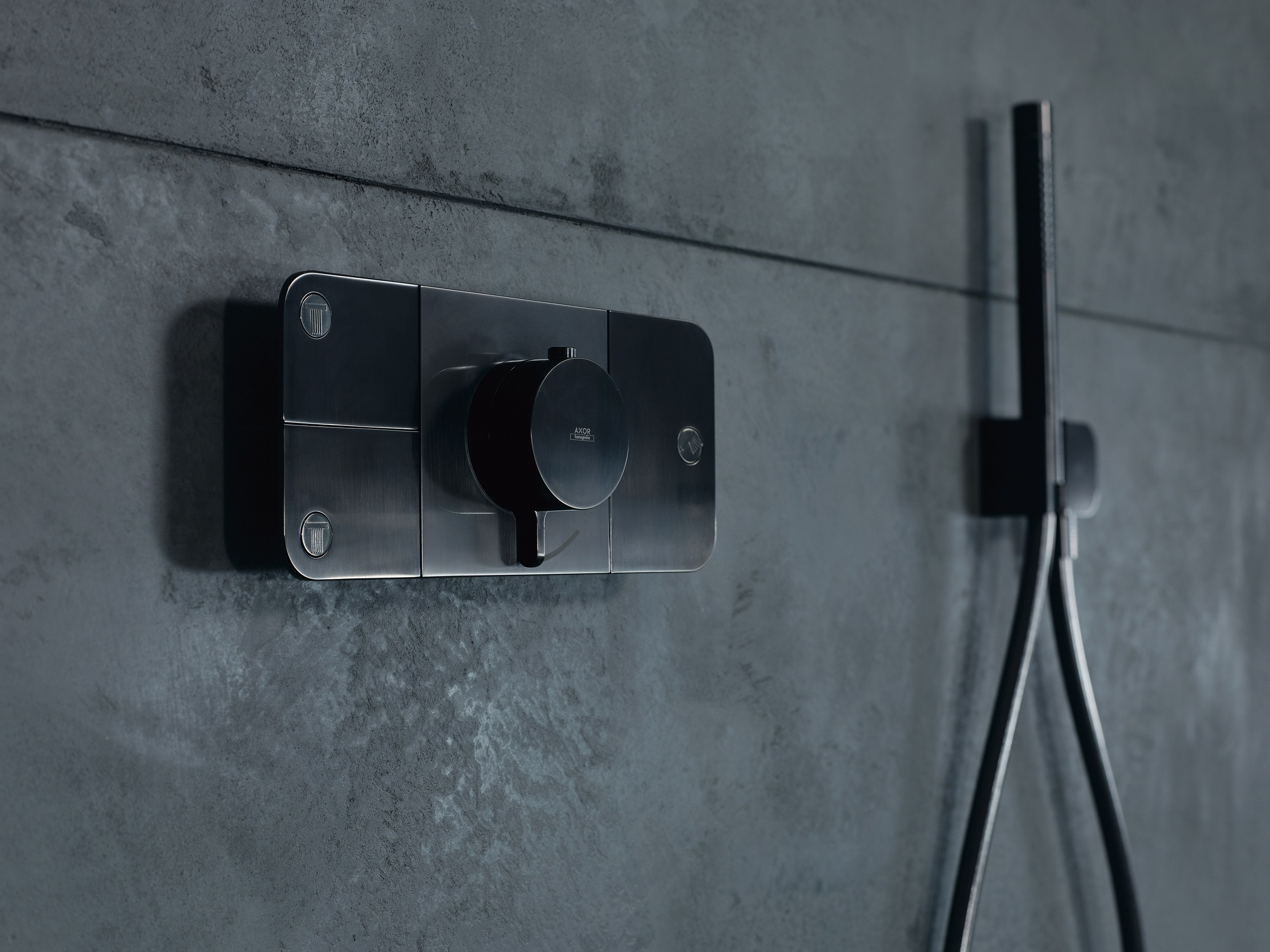 AXOR ONE   Thermostatic shower mixer Axor One Collection