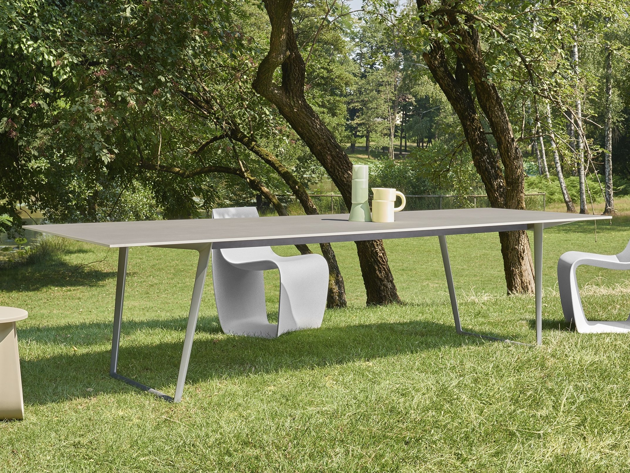 Axy tavolo da giardino by mdf italia design claudio bellini for Mdfitalia it