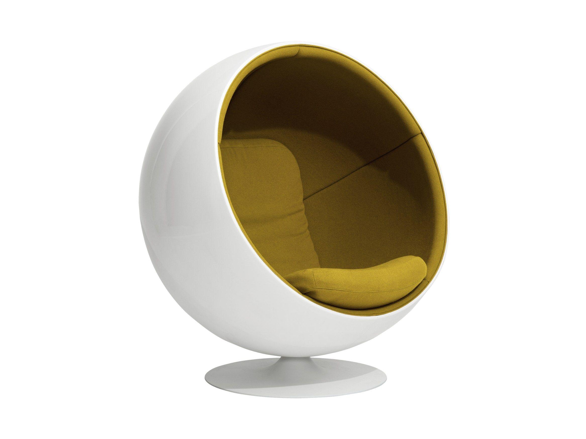 Fibreglass armchair BALL CHAIR By Aarnio Originals design Eero Aarnio