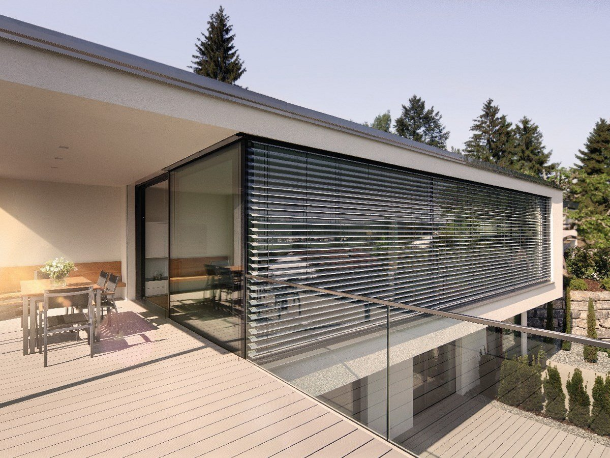 venetian blinds basic facade venetian blinds by warema. Black Bedroom Furniture Sets. Home Design Ideas
