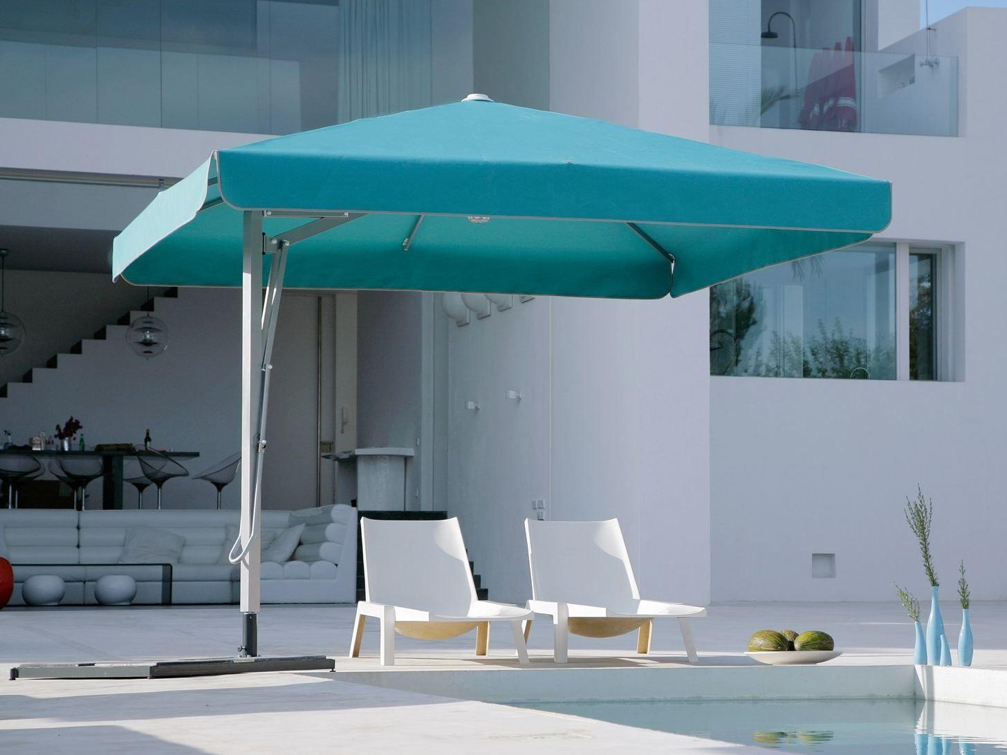 BELVEDERE Ombrellone quadrato Michael Caravita 120634 rel61e09056 belvedere round garden umbrella by caravita  at bayanpartner.co