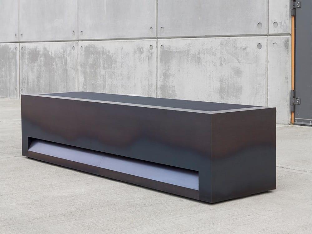 Blok Steel Office Reception Desk By Isomi Design Paul Crofts