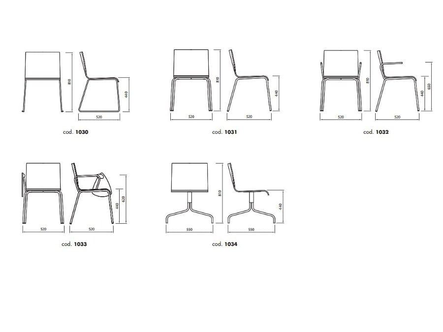 CASABLANCA Chair By ALMA DESIGN design Nicola Cacco