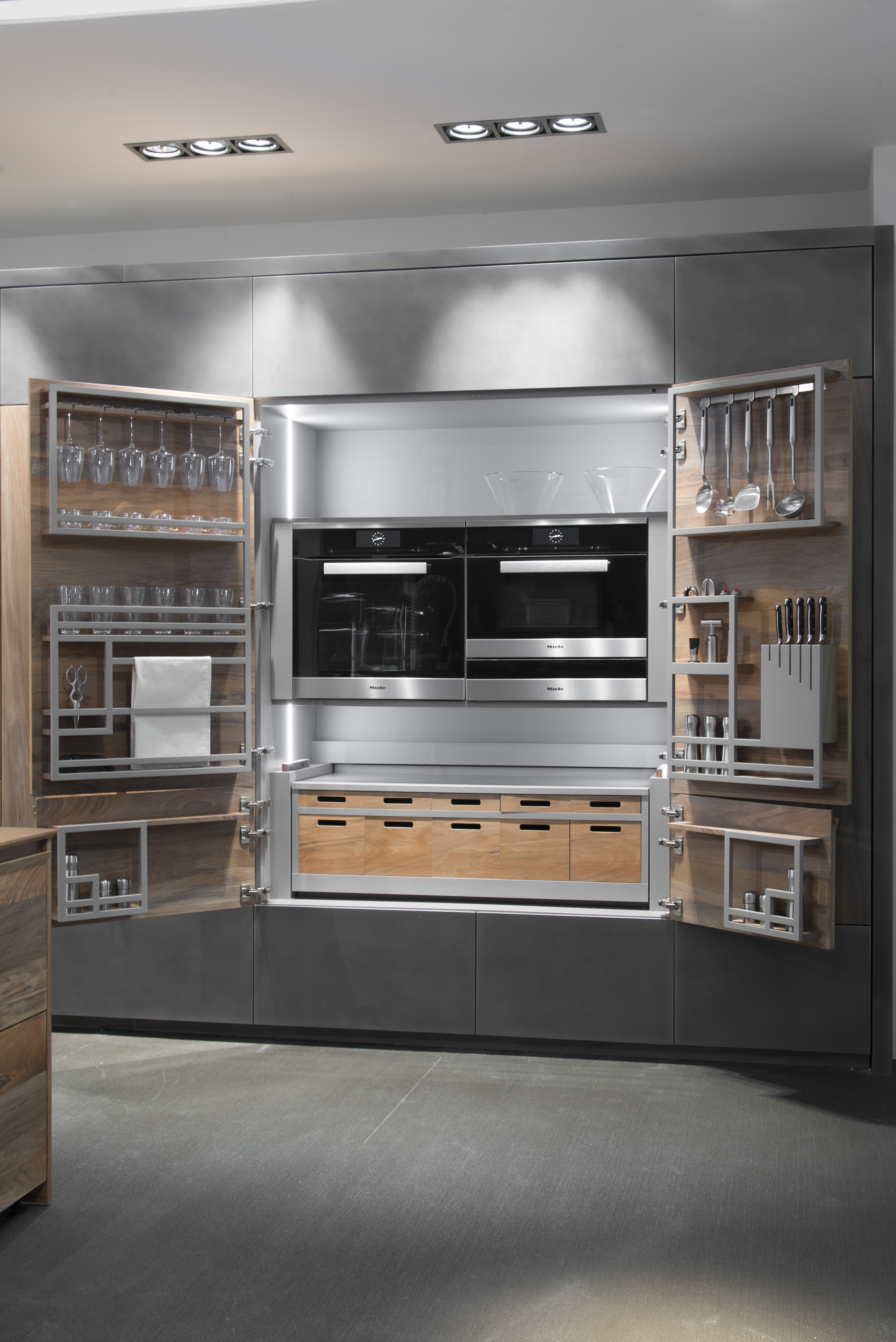 Hideaway Kitchen Unit Chef De Cuisine By Toncelli Cucine