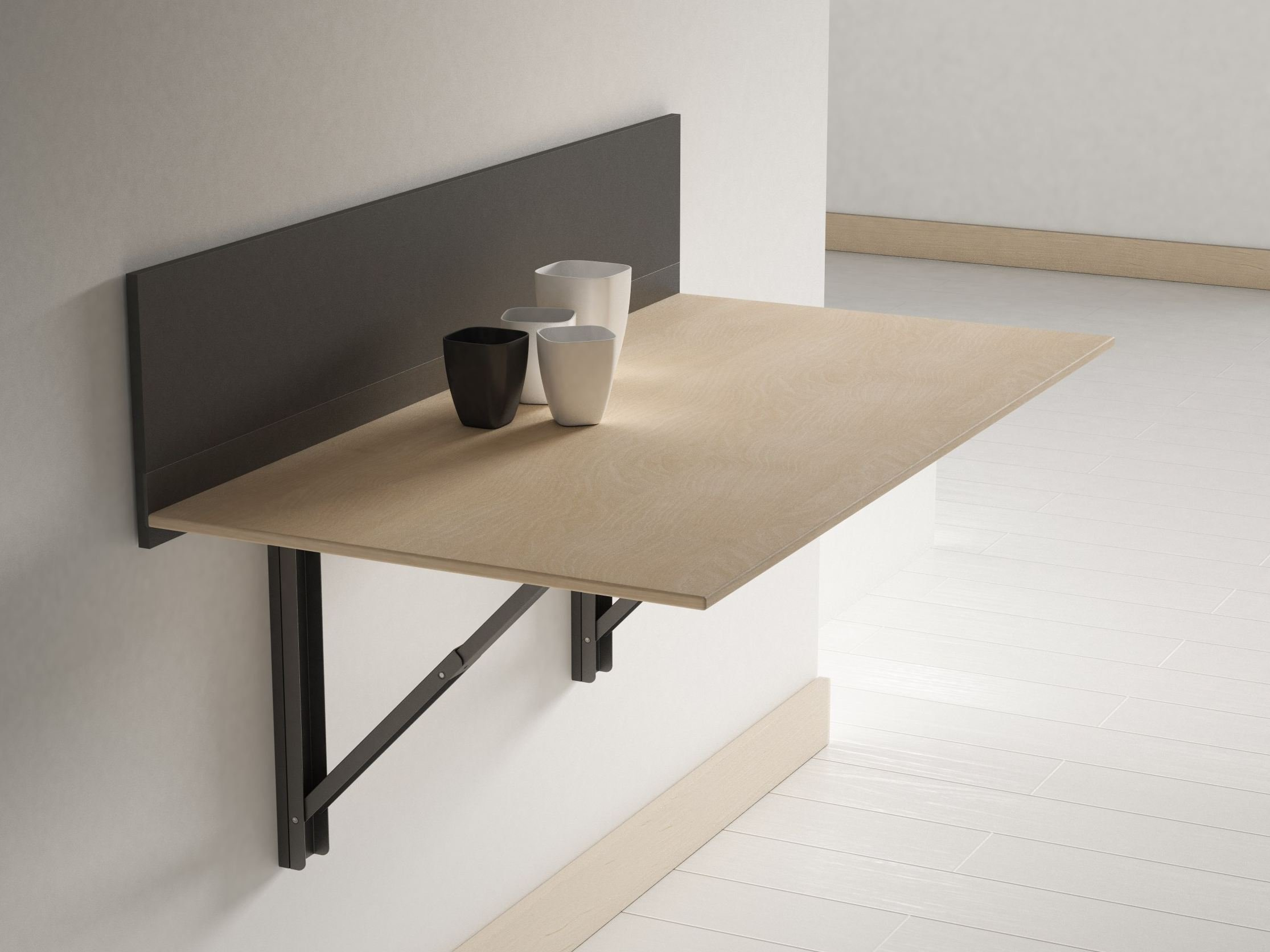 Click Wall Mounted Table By Cancio