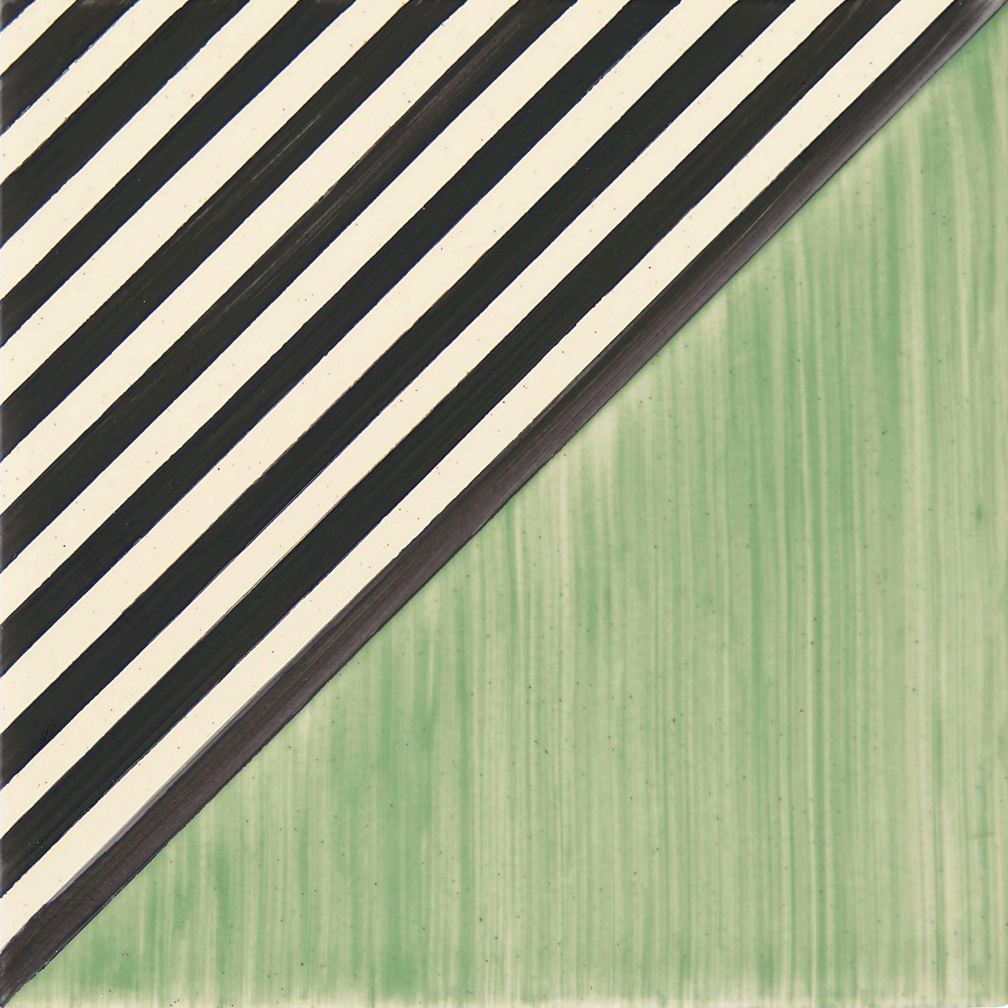 PF016 Color Art Green Stripes