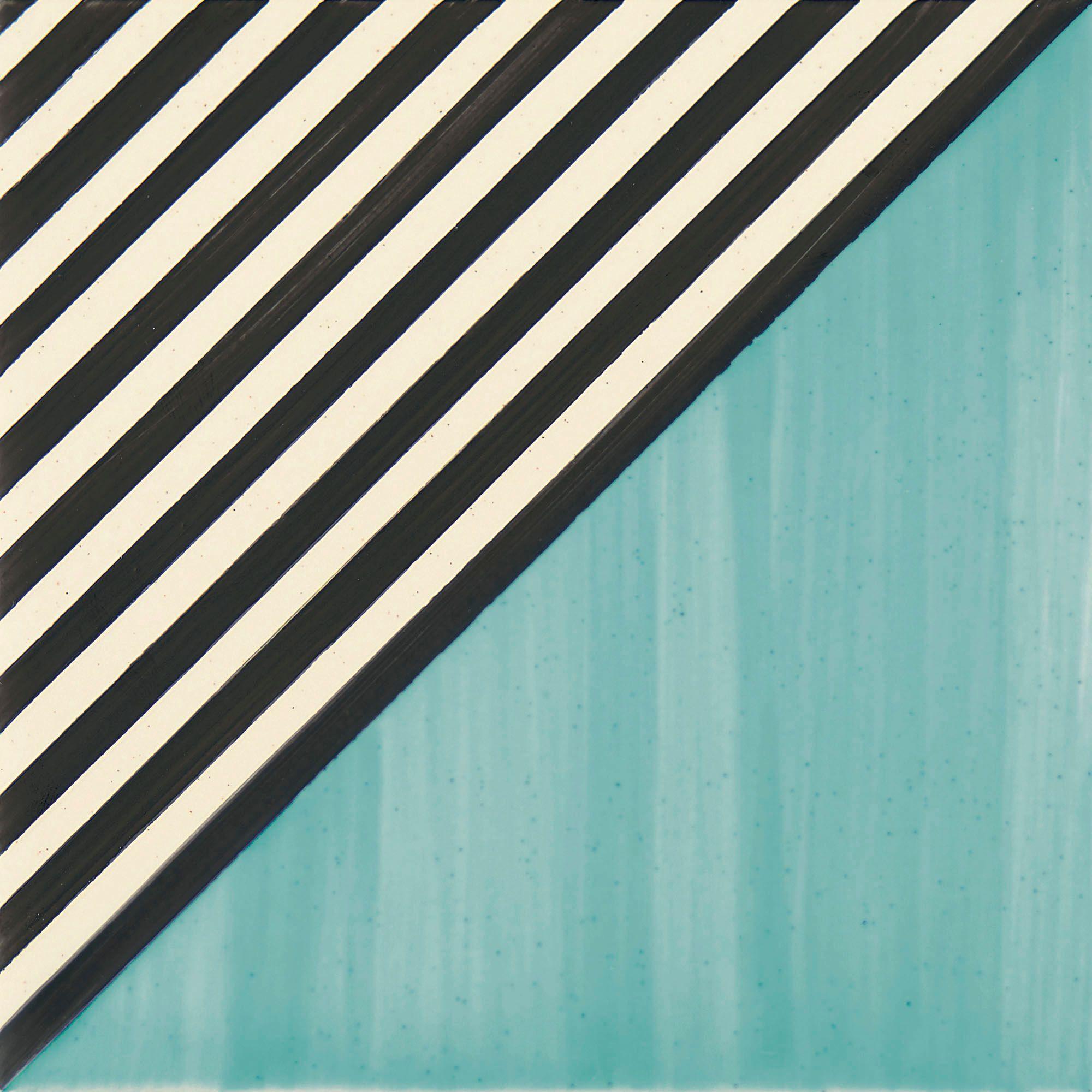 PF017 Color Art Blue Stripes