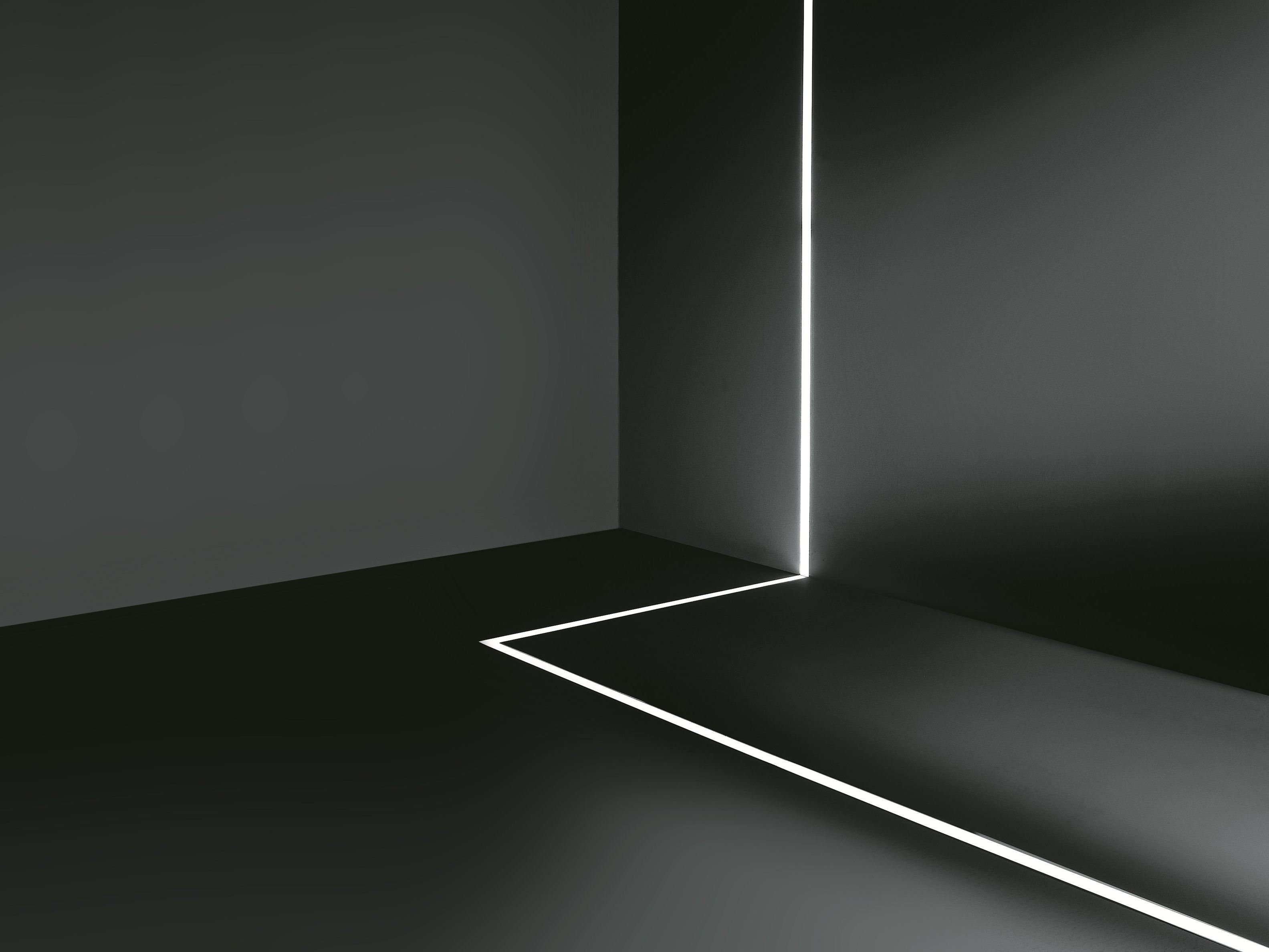 Linear Lighting Profile For Led Modules Continuos Line By