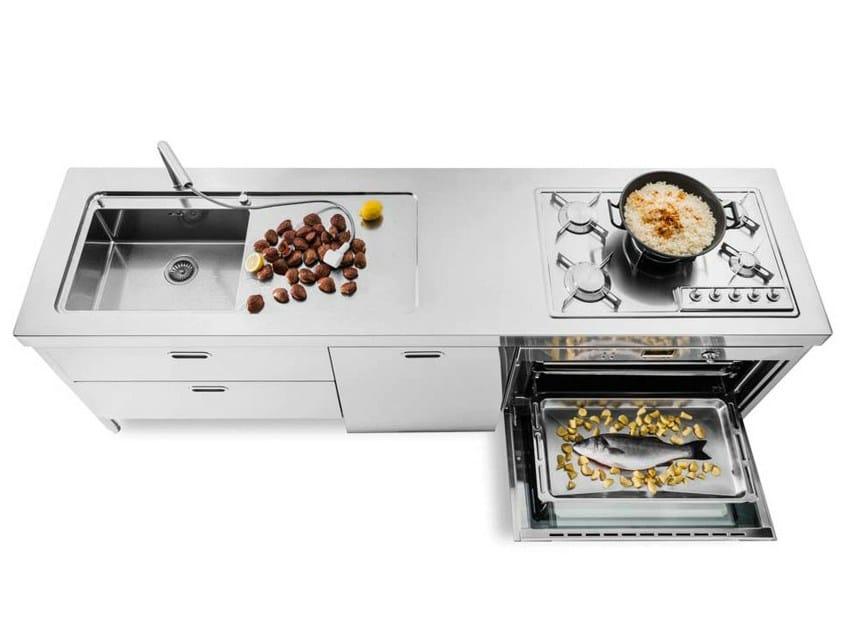 Top cucina acciaio inox prezzo immagine with top cucina acciaio inox prezzo supreme il - Cucine alpes inox prezzi ...