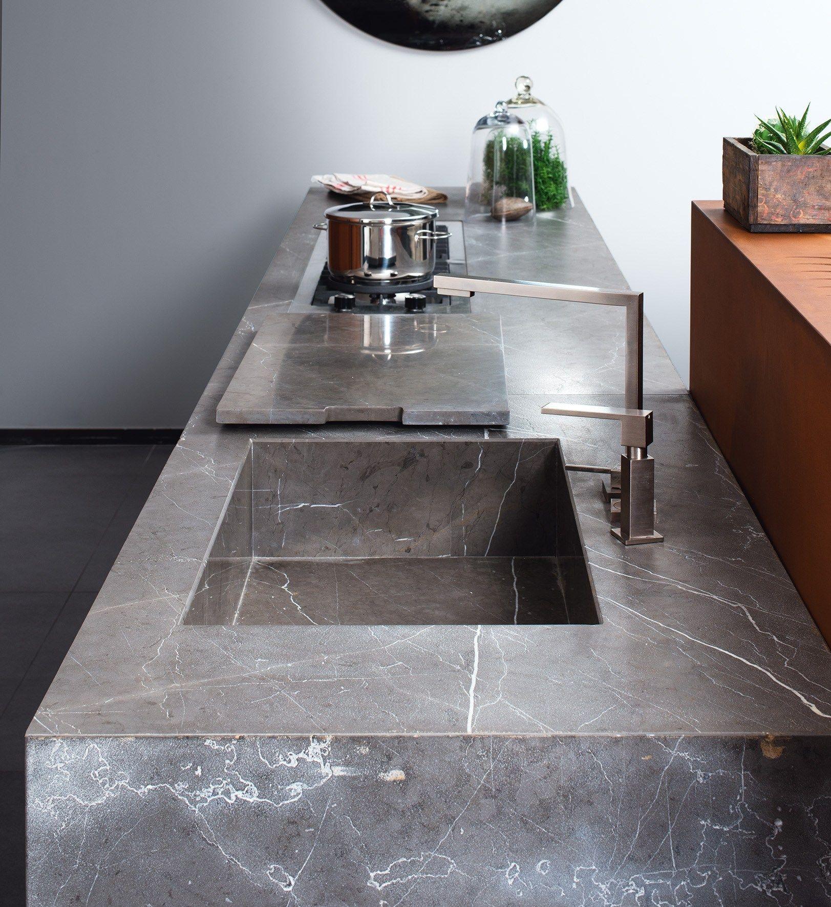 D90 | Cucina senza maniglie By TM Italia Cucine