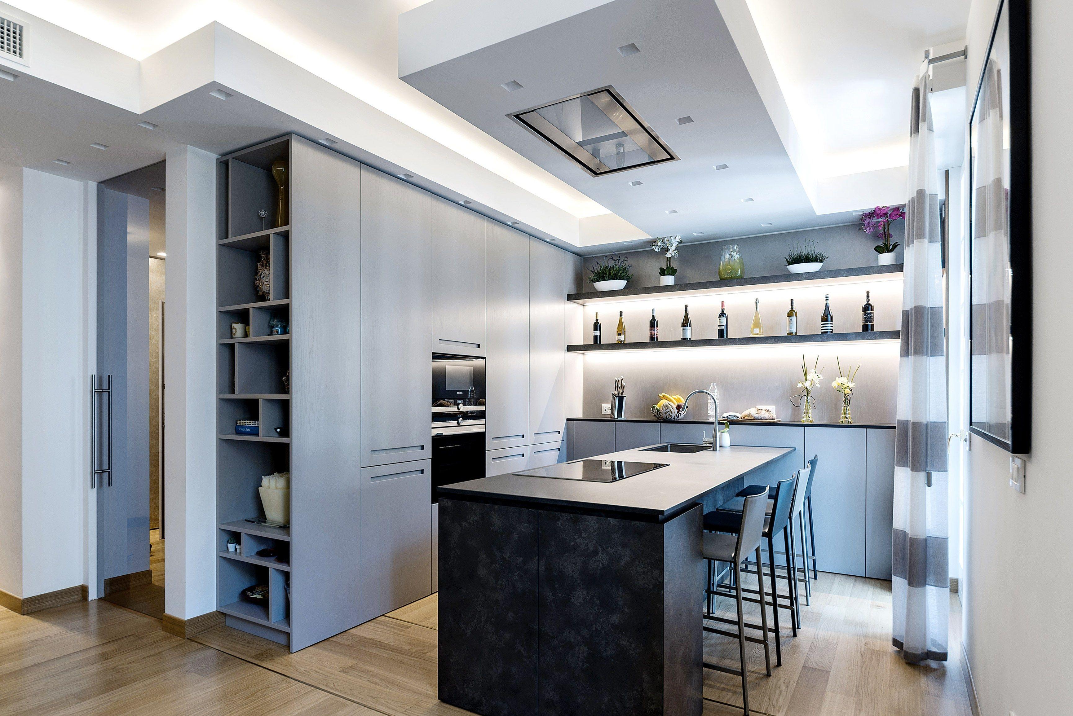 Best Cucina Grigio Rovere Contemporary - Embercreative.us ...