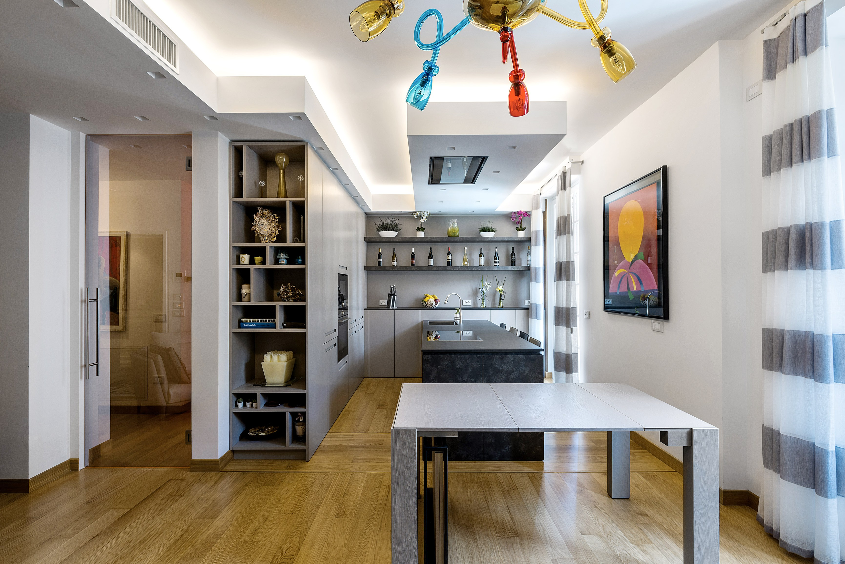 Cucina Moderna Rovere Grigio. Perfect Cucina Moderna Rovere ...