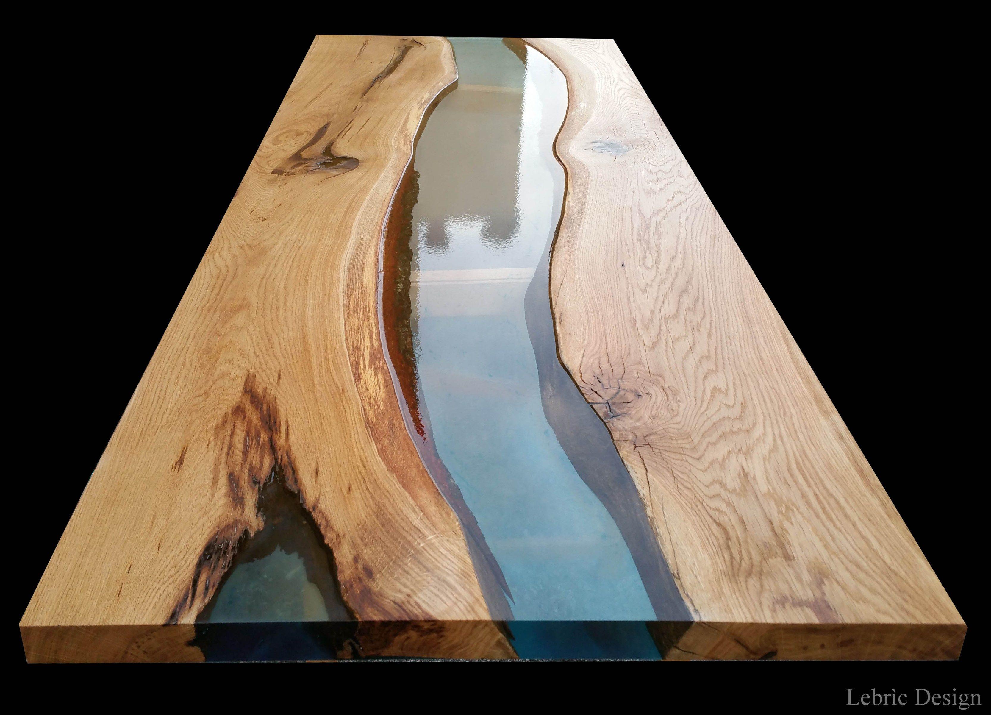 Tavolo in resina e legno danubio by antico trentino - Tavole legno vecchio prezzi ...